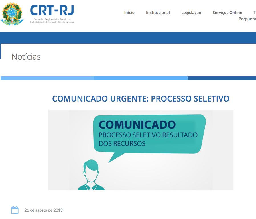 Comunicado Urgente Processo Seletivo no Site (Clique Aqui)