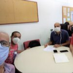Voluntários e conselheiro do CRT-RJ fazem visita técnica ao INCA de Vila Isabel