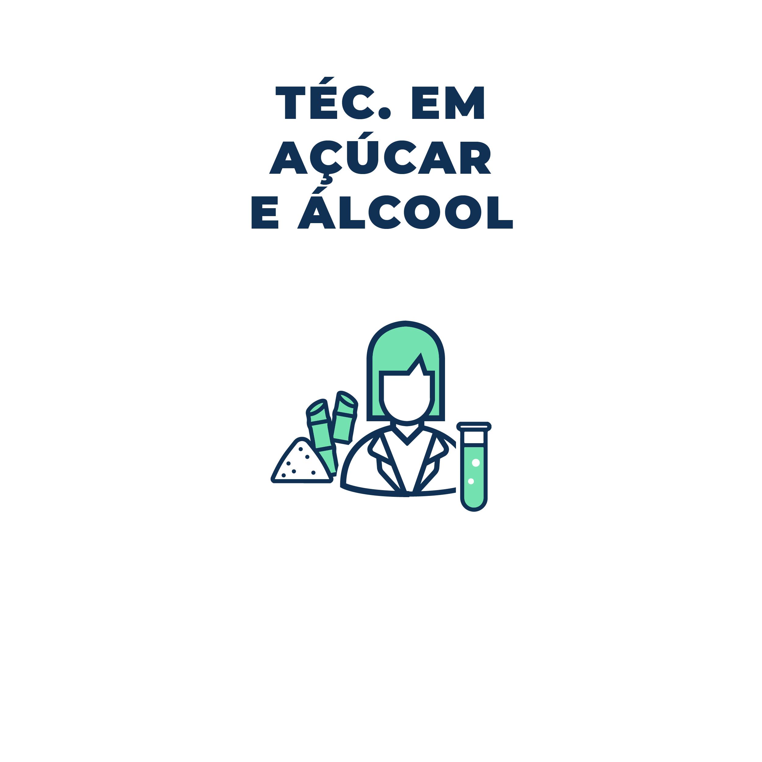 alcool e acucar