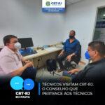 CRT-RJ recebe a visita de técnicos em sua sede