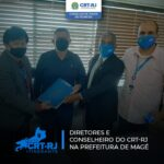 Subsecretário de Fazenda de Magé recebe Diretoria e Conselheiro do CRT-RJ