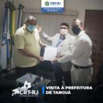 Diretoria que faz de verdade: CRT-RJ visita Prefeitura de Tanguá