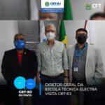 Diretor Geral da Escola Técnica Electra visita CRT-RJ